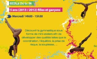 La Gym pour les enfants de 5/6 ans (2013/2012)