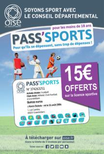 Pass sport du conseil départemental de L'Oise