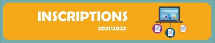 Inscriptions saison sportive 2021/2022